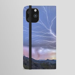 The Deluxe Arizona Monsoon Package iPhone Wallet Case