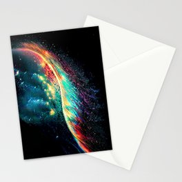Into the Rainbow Vein Stationery Cards