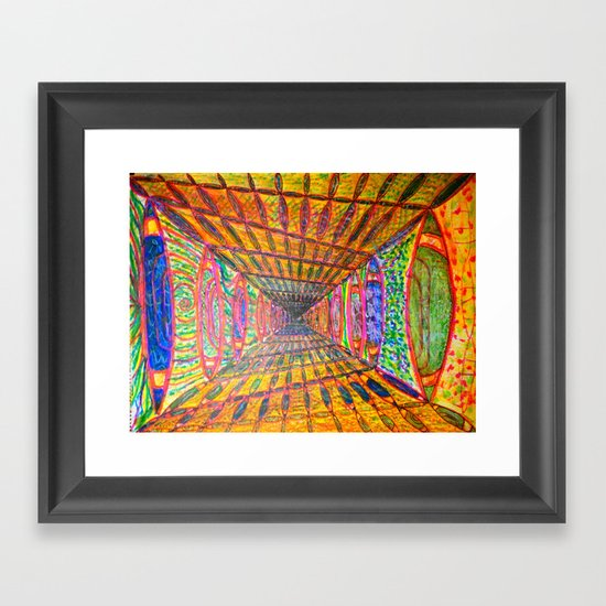 What Eye Really Think of Love (Complete CC) Framed Art Print