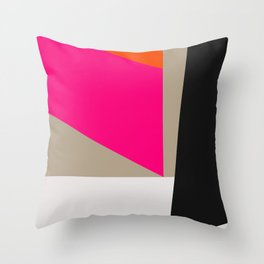Mid Century Minimal 1 Throw Pillow