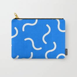 DAVID HOCKNEY STYLE 80s SQUIGGLE PATTERN Carry-All Pouch