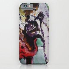 baby elephant & big elephant iPhone 6s Slim Case