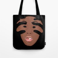 tyler the creator Tote Bags featuring Tyler The Creator by GraphicAllyCreative