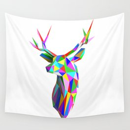 3D Stag Wall Tapestry