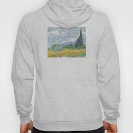 Vincent van Gogh - Wheat Field With Cypresses Hoody