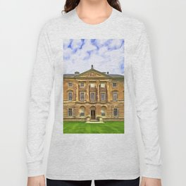 Castle Ward, Ireland. (Painting) Long Sleeve T-shirt