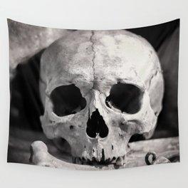 Skulls And Bones Wall Tapestry