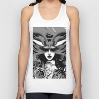 moth Tank Tops featuring Moth by WES EXOTIC IMAGERY