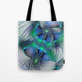 Fantasy Place, Abstract Fractal Art Tote Bag