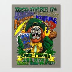 March 17, 2004 at The Pyramid Canvas Print