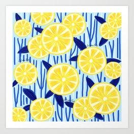 Limonada fresca Art Print