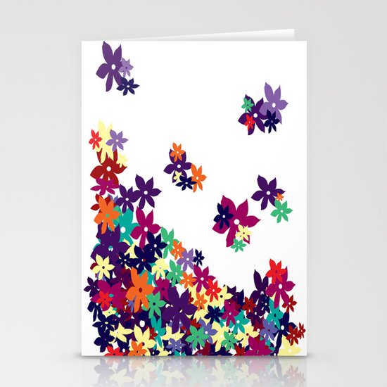 Flowered Up Stationery Cards