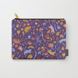 Candy Cats in the Magic Garden Carry-All Pouch