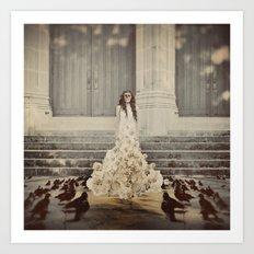 Bridal Portrait Art Print
