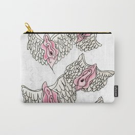 FLYING VULVAS Carry-All Pouch