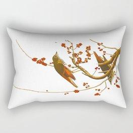 Hermit Thrush Bird Rectangular Pillow