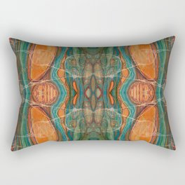 Lively Synapses (Amplified Current) (Reflection) Rectangular Pillow