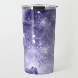 Carina Nebula Muted Violet Travel Mug