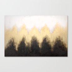 Metallic Abstract Canvas Print