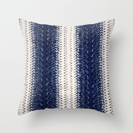 Dip-dye Crochet Throw Pillow