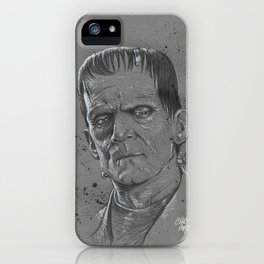 Frankenstein Monster iPhone Case