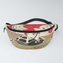 Duck and Cover Propaganda  Fanny Pack