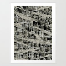 Texture Mix Art Print