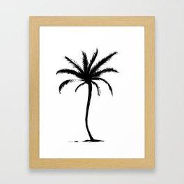 Classic Palm Tree Framed Art Print