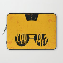 Taxi Driver - you talking to me? Laptop Sleeve