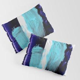 Abstract Brush Strokes 3 Pillow Sham