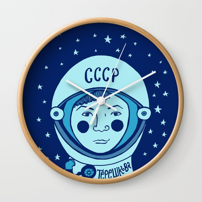 Valentina Tereshkova Wall Clock
