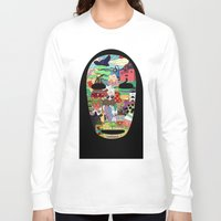 spirited away Long Sleeve T-shirts featuring No Face by Ilse S