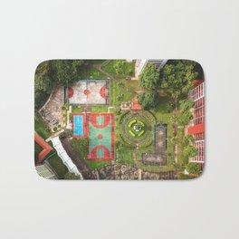 Singapore aerial drone Bath Mat