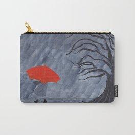 Orange Umbrella Carry-All Pouch