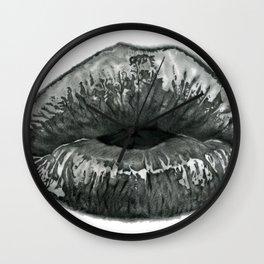 Kissy Lips ~ Saint Valentine Wall Clock