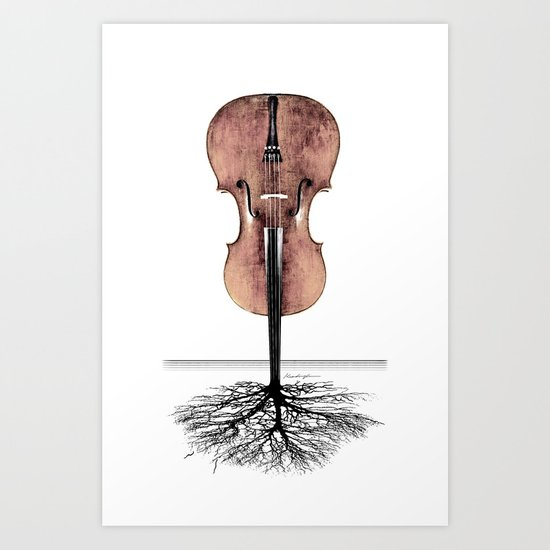 Rooted Sound II Art Print