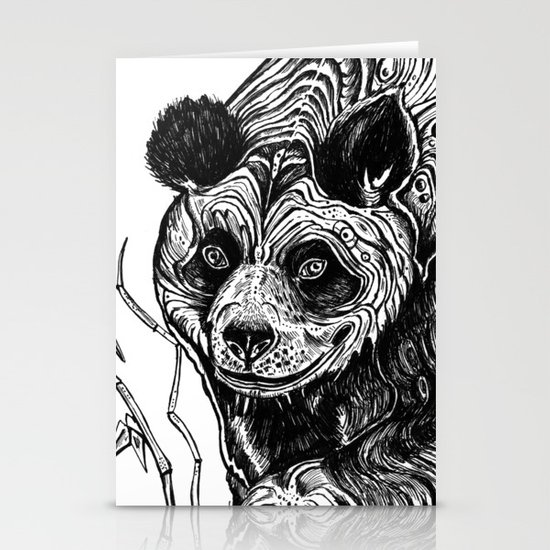 Panda Love Stationery Cards