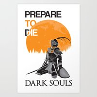 dark souls Art Prints featuring Dark Souls by billydragon77