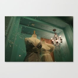 Elegant couture. Canvas Print
