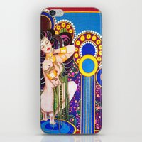klimt iPhone & iPod Skins featuring African Klimt by Morgan Fay