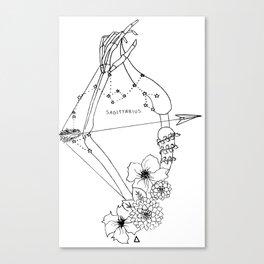 // Sagittarius // Canvas Print