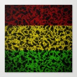 Electric Rasta Canvas Print
