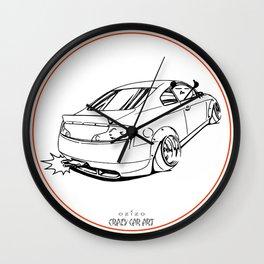 Crazy Car Art 0221 Wall Clock