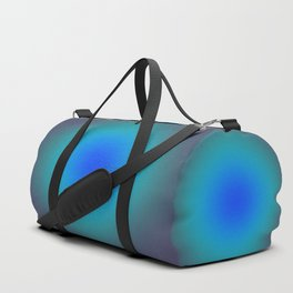 Hazy Blue Green Medley Duffle Bag