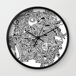 Doodle Those! Wall Clock