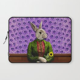 Miss Bunny Lapin in Repose Laptop Sleeve