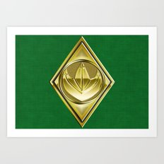 Green Ranger Art Print