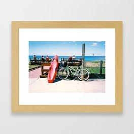 An Australian Sunday Framed Art Print