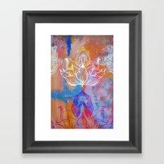 Bindu Alligning Framed Art Print