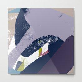 Sunday Winter Time vol.4 - Abstract Throw Pillow / Wall Art / Home Decor Metal Print